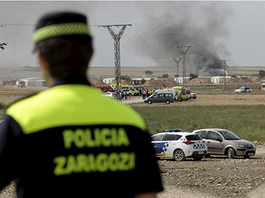 Five killled, six injured in blast in fireworks factory in Spain