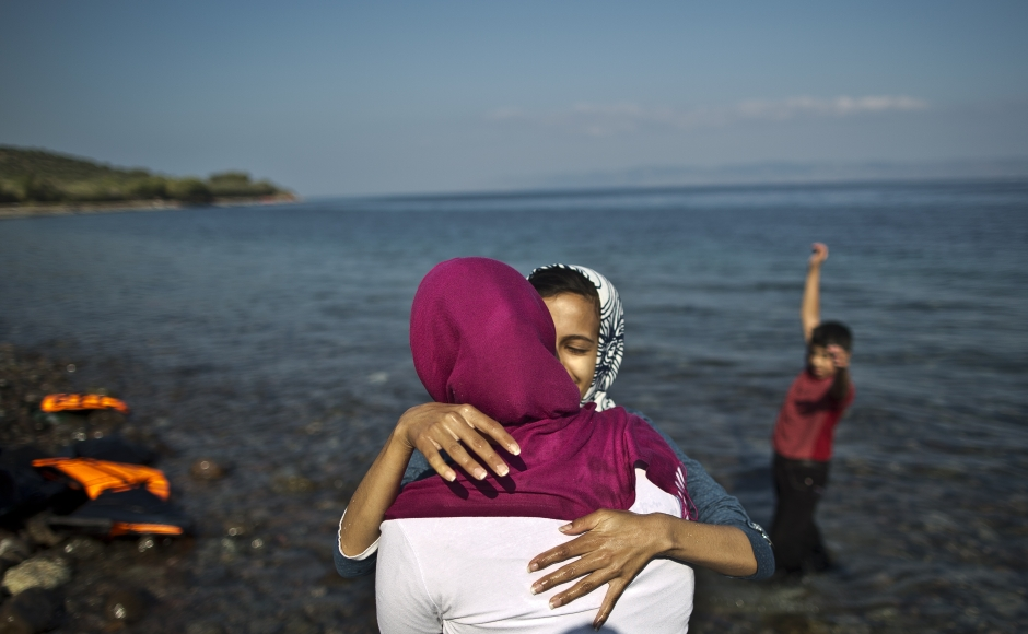 PicOfTheLot Refugees in Greece