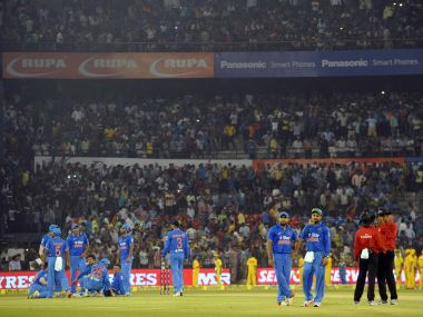 Are we really a sporting nation? Cuttack crowd left a lot to be desired. AFP
