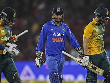 Wouldn't want a lot of grass cover on the wickets for ODIs, says Dhoni
