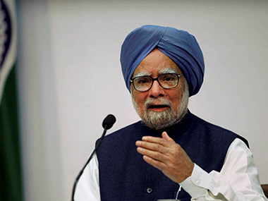 Dr Manmohan Singh. File photo. PTI
