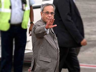 President Pranab arrives in Israel on first-ever visit to the country by an Indian Head
