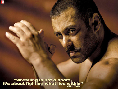 The first look of Salman Khan in Sultan. Image Credit: @BeingSalmanKhan