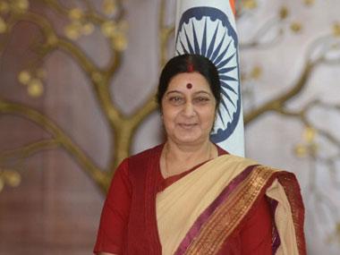 External Affairs Minister Sushma Swaraj. AFP