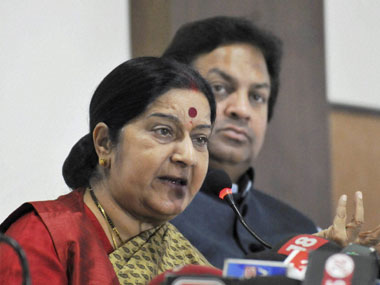 Indian woman's hand chopped off: Sushma Swaraj condemns incident, calls it 'unacceptable'