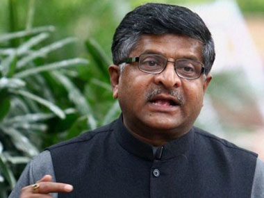 Phones worth Rs 94,000 cr to be made in India in FY17, says Ravi Shankar Prasad