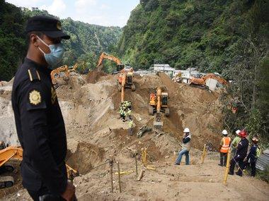 At least 131 killed in Guatemala landslide, hundreds missing