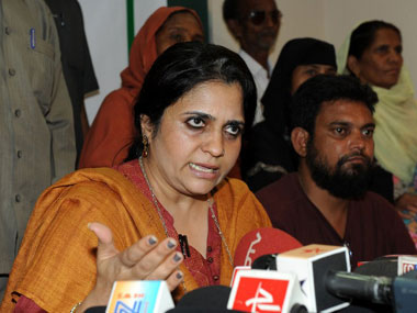 Gujarat HC rejects Teesta Setalvad's plea for defreezing bank accounts