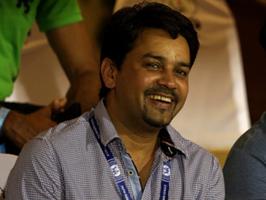 File picture of Anurag Thakur. BCCI