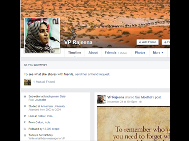 Kerala journalist faces backlash for Facebook post on sexual abuse in madrassa