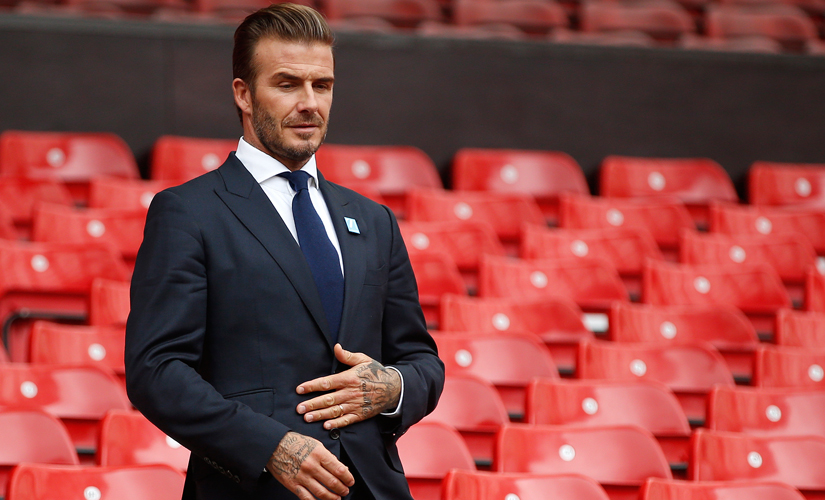 From David Beckham to Idris Elba, here are People magazine's top 10 sexiest men alive