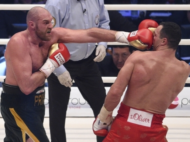 Tyson Fury ends Wladimir Klitschko's heavyweight reign, fulfills father's prophecy