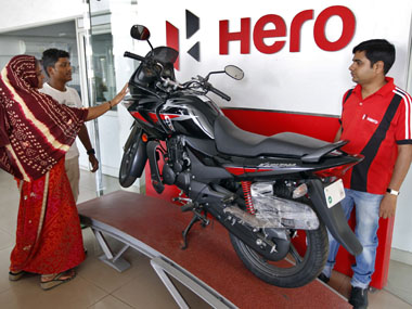 PE firm Bain Capital offloading Hero MotoCorp shares for around $116 mn
