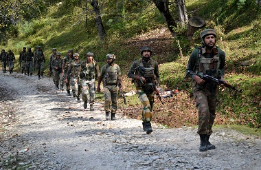 File photo of the Indian Army. AFP