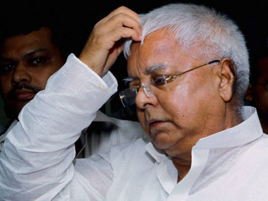 Communal tension has increased under Modi's rule: Lalu Yadav