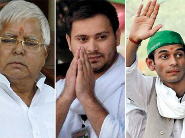 Lalu's trusted IAS officers  transfers to the departments of sons Tejashwi and Tej Pratap