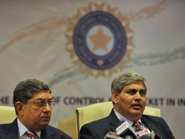 Can Shashank Manohar do what N. Srinivasan couldn't? AFP
