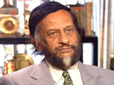 File photo of RK Pachauri: ibnlive