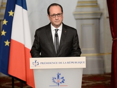 French president Francois Hollande/ AFP