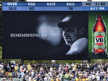 In memory of 408: A year on, Australia remembers Phil Hughes on anniversary of death