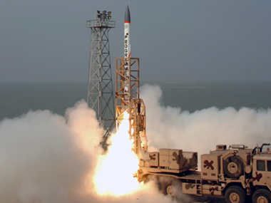 India successfully test fires nuclear capable Prithvi-II missile