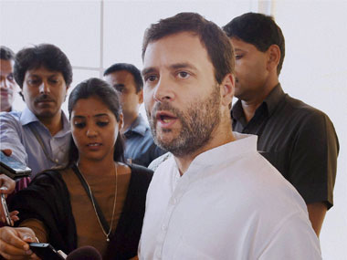 'One man can't have all the answers': Rahul Gandhi takes jibe at Modi in Bengaluru