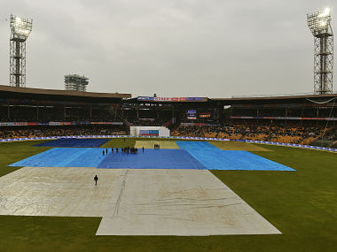 Hat-trick of washouts. Day four called off in Bengaluru.