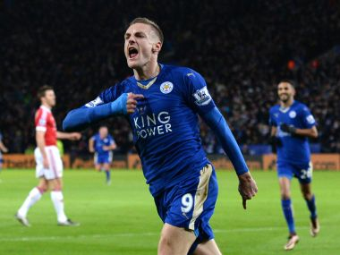 Premier League: Jamie Vardy creates history as Leicester draw with United; Man City go top