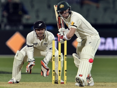 With 47,000 in attendance, Kiwis hit back after being bowled out for 202 in historic