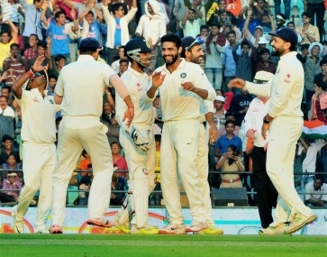 Nagpur Test: India poised for win as South Africa crumble under spin pressure