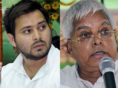 Lalu appoints son Tejashwi Yadav as RJD party leader in new Bihar Assembly