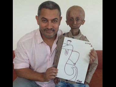When Aamir met Nihal Bitla Actor leaves fan with progeria optimistic about life