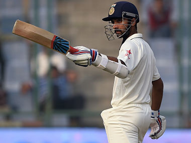 Ajinkya Rahane was in solid touch throughout his innings. AFP