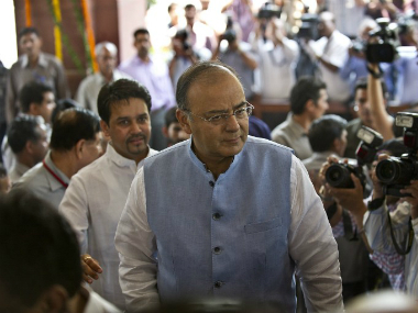 AAP made fresh allegations against Finance Minister Arun Jaitley. AFP