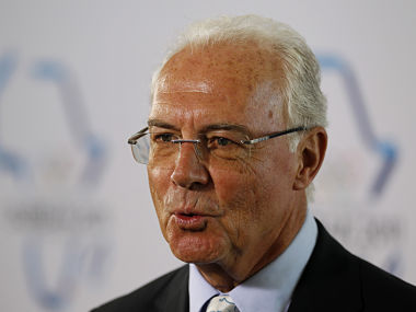 File image of Franz Beckenbauer. Reuters