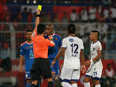 The ISL Final saw a lot of tussles between the players.
