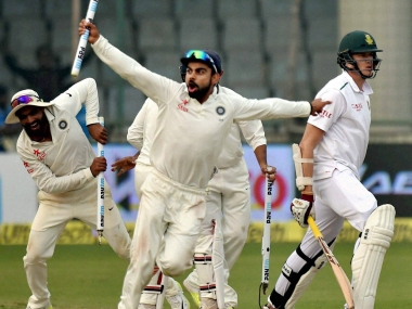 Team India has climbed on top of ICC Test rankings. PTI