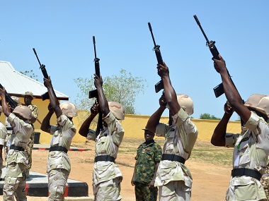 Nigerian soldiers. Representational image AFP