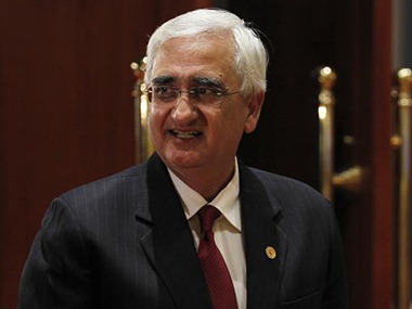 Salman Khurshid. Reuters