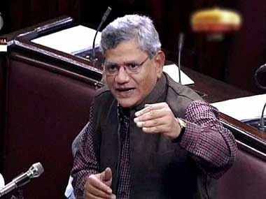 Sitaram Yechury accuses govt of replacing secular India with a Hindu nation