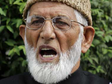 Syed Ali Geelani. Reuters