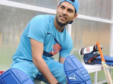 File photo of Yuvraj Singh. Image courtesy: Puma