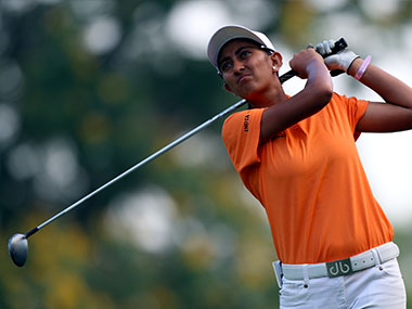 Road to Rio Aditi Ashok Indias teen golf sensation carrying nations hopes on Olympic debut