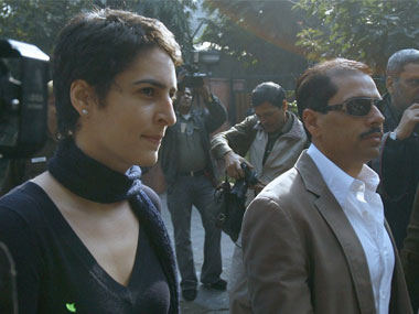 Priyanka Gandhi with Robert Vadra at ED office sends strong message to BJP but could it force party to back off