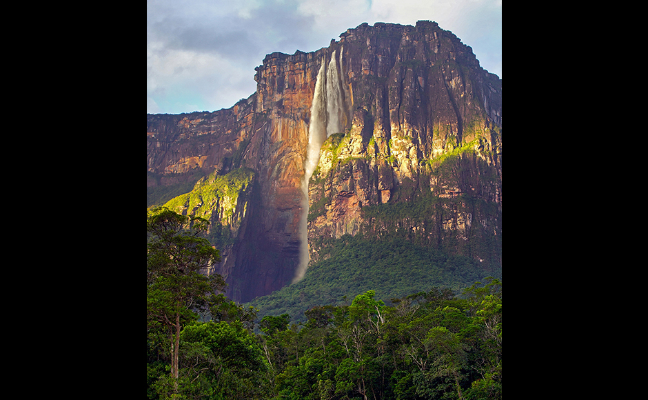 "When in 1933 the pilot James Angel flew over the Venezuelan jungle, he espied a river plunging over a mesa into a gorge. The plunge was so deep that the water was vaporized into a veil of mist. The waterfall today bears the American pilot's name and is considered to be the tallest in the world. It consists of several steps, the tallest one alone being 807 metres. In 2009, late Venezuelan President Hugo Chavez announced his aim to get the waterfall renamed ""Kerepakupai Merú"" - the name given it by the indigenous Pemón inhabitants. In order to see the waterfall in the southwest of Venezuela, it is first necessary to fly to Canaima National Park. From there, boat tours take visitors to the waterfall. Source - DPA"