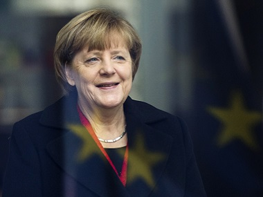 German Chancellor Angela Merkel. AFP