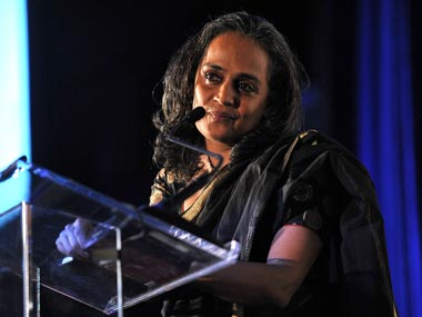Arundhati Roy. File photo. Getty images