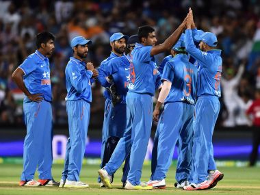 File picture of India cricketers. Getty