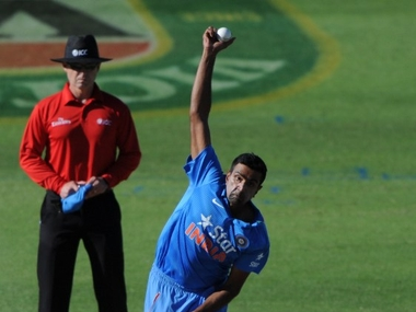 File photo of Ashwin. AFP