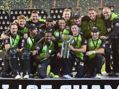Champions of Big Bash League - Sydney Thunder. AFP